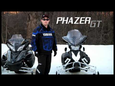 2013 Yamaha Snowmobiles Introduction Part 1: Trail
