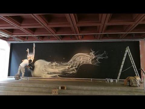 Street Art Ελλάδας – Μεξικού στην Αθήνα