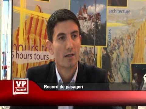 Record de pasageri