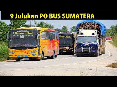 9 Julukkan PO BUS di Sumatera
