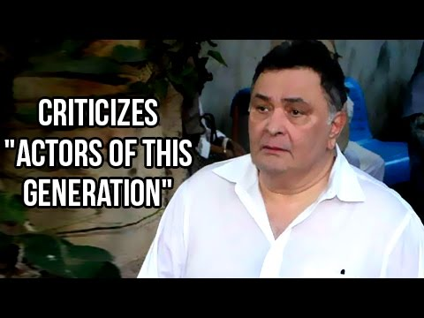 Rishi Kapoor Gets ANGRY On Bollywood For Skipping