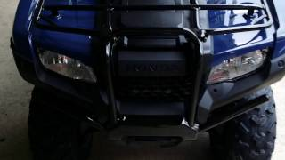 8. 2016 Honda FourTrax Rancher 420 Automatic DCT EPS 4x4 ATV - BLUE / VIDEO WALK AROUND : TRX420FA2G