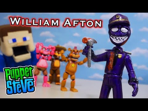 Five Nights At Freddy's: Attack Of Twisted Ones William Afton!!!