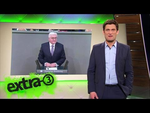 Christian Ehring BundesprГsident Frank-Walter Steinmeier  extra 3  NDR
