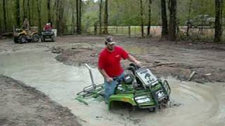 8. copiah creek 4-3-2010 RANKIN COUNTY MUDSLINGERZ HONDA ARCTIC CAT MUD RIDING