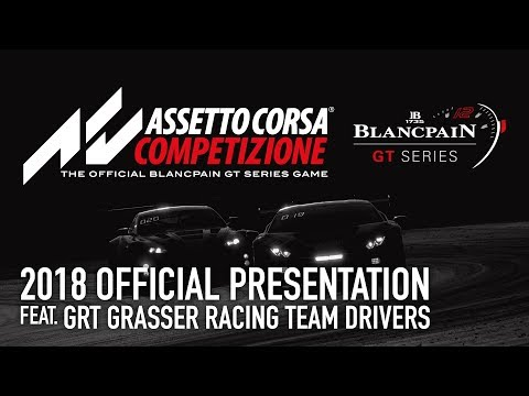 Live - Preview Launch of Assetto Corsa Competizione - Nurburgring Event 2018 - English