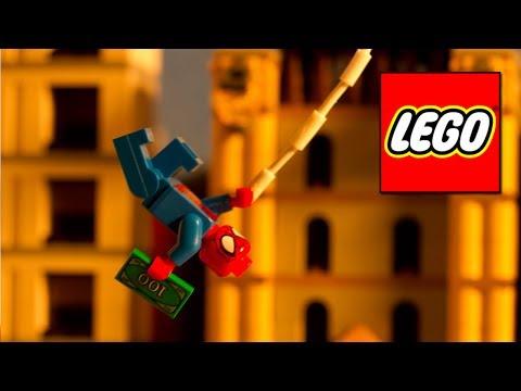 Lego marvel super heroes - jornal do homem aranha