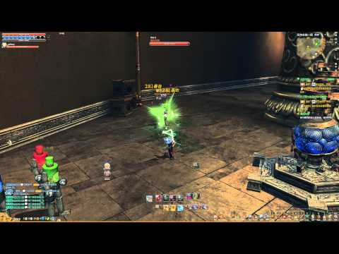 Blade & Soul CN Godly Weapon S1 Buff Proc Test Single Target Ver 2