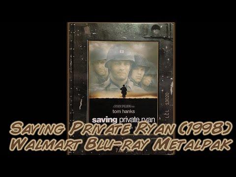 Saving Private Ryan (1998) Blu-ray Metalpak - Walmart Exclusive   Unboxing