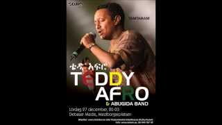 Teddy Afro in Stockholm : Dec 21, 2014