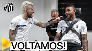 Os BASTIDORES da reapresentação do Santos para a temporada 2017