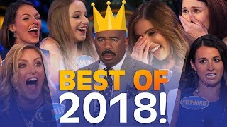 Video 2018's GREATEST FAMILY FEUD MOMENTS! | Family Feud MP3, 3GP, MP4, WEBM, AVI, FLV Desember 2018