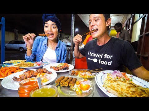 The Ultimate KENYAN STREET FOOD TOUR in Mombasa - Coastal East African Food, Kenya!