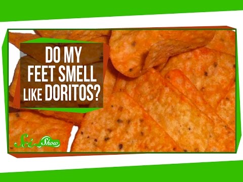 Feet - Hank tackles another one of the internet's most-asked questions: What makes feet stink? And maybe more importantly, why do they sometimes smell like ... snac...