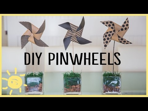 DIY | THE PERFECT PINWHEEL