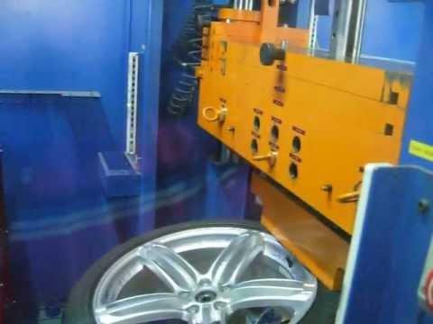 Тест литых дисков WSP Italy W560 Pompei на удар обода (Audi)
