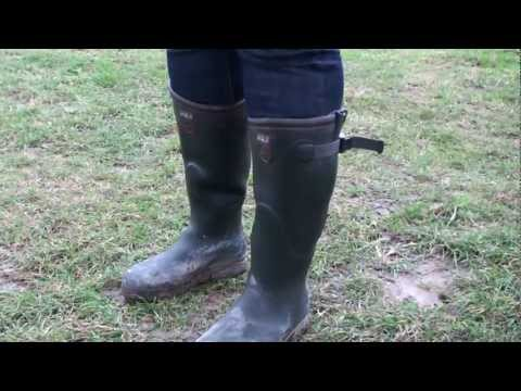 Aigle Parcours Iso Gummistiefel Stiefel Thermostiefel Neopren