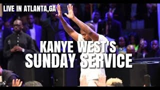 Kanye West Sunday Service Live in Atlanta,GA | Full Service
