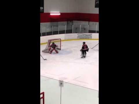 Squirt Hockey Goalie Drills