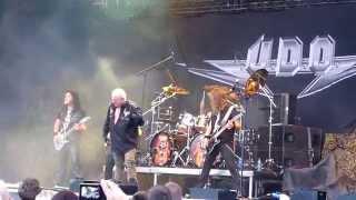 U.D.O. - Metal Heart @ Nösnäsvallen, Stenungsund, Sweden 2014-07-31