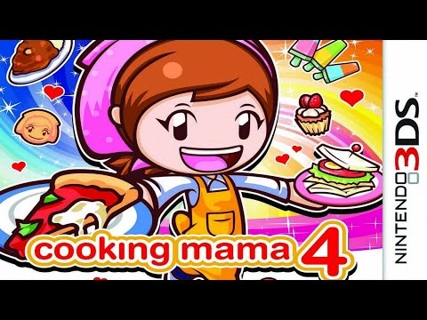 Cooking Mama 4 Gameplay {Nintendo 3DS} {60 FPS} {1080p}
