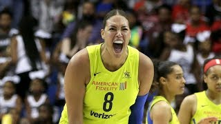 Liz Cambage Scores 43 Points As Wings Clinch Playoff Spot by WNBA