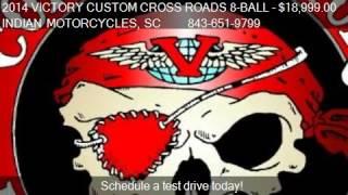 8. 2014 VICTORY CUSTOM CROSS ROADS 8-BALL CUSTOM 21' for sale i