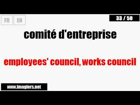 [French vocabulary] Business French #12