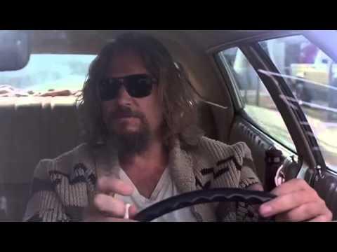 Big Lebowski, car scene