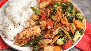 Chicken with Mixed Vegetables by Laura in the Kitchen