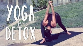 Video Detox Yoga | 20 Minute Yoga Flow for Detox and Digestion MP3, 3GP, MP4, WEBM, AVI, FLV Maret 2018