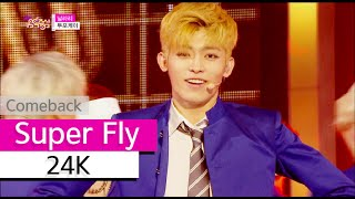 Download Lagu [Comeback Stage] 24K - Super Fly, 투포케이 - 날라리, Show Music core 20151003 Mp3