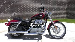 4. 414928   2006 Harley Davidson Sportster 883 Custom   XL883C - Used motorcycles for sale