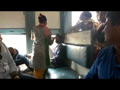 Hijra Fight In Train Chennai Thirumalaikodi