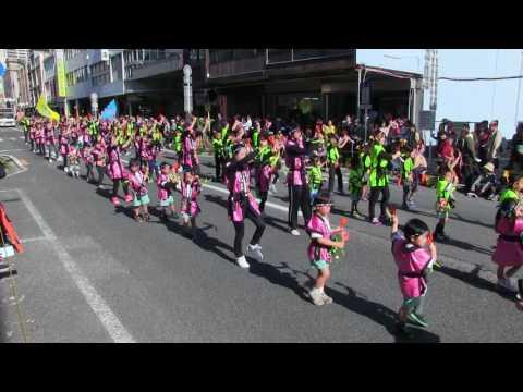 第20回よさこい東海道(2016/11/13)「恵愛保育園パワフルキッズ」