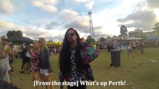 3 Hours of Walking around Stereosonic as Steve Aoki