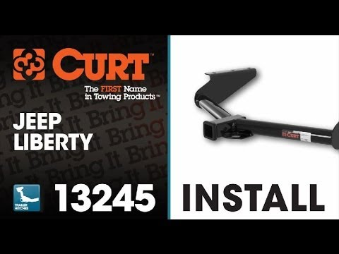 Trailer Hitch Install: CURT 13245 on 2012 Jeep Liberty