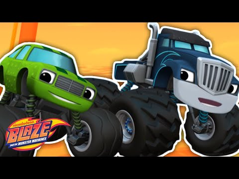 The Misadventures of Crusher & Pickle! Ep. 1 | Blaze and the Monster Machines