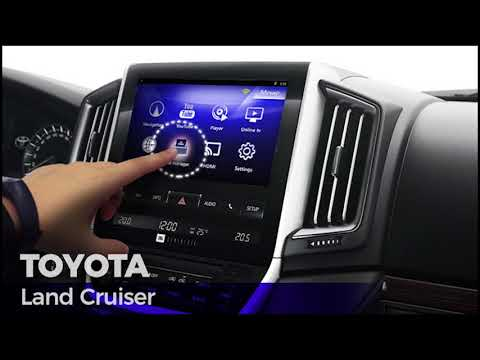 TOYOTA LAND CRUISER ANDROID INTERFACE WITH TOUCH ! (LC200)