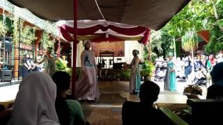 Tarian Jaleuleu Samba Sunda - Pagelaran seni SMPN 18 Bandung