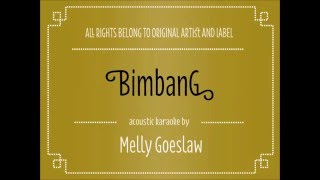 Video [Acoustic Karaoke] Bimbang - Melly Goeslaw MP3, 3GP, MP4, WEBM, AVI, FLV Juli 2018