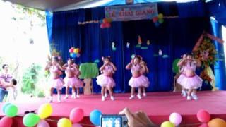 Múa Em là Hoa Hồng Nhỏ (Chồi 2) www.hoahongdo.edu.vn