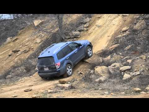 Northwest OHV Park High Top hill climb Subaru Forester Off Road (видео)