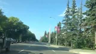 Regina (SK) Canada  city photos gallery : Canada Summer -Regina, Saskatchewan, Canada - Albert Street (Main Street)