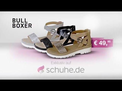 Bullboxer Sandaletten für Damen aus der TV Werbung 2016 | schuhe.de