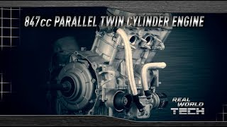 7. 2018 Yamaha Wolverine X4 - Real World Tech - Parallel Twin Engine