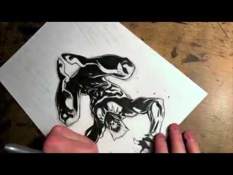 Drawing Black Panther- With Marvel Comics Artist Ryan Stegman