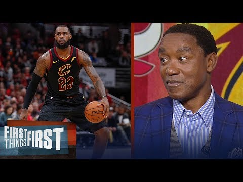 Isiah Thomas joins Nick and Cris to talk M.J. vs LeBron, Kyrie's handles | FIRST THINGS FIRST