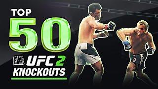 EA SPORTS UFC 2 - TOP 50 UFC 2 KNOCKOUTS - Community KO Video ep. 12, EA Games, video games