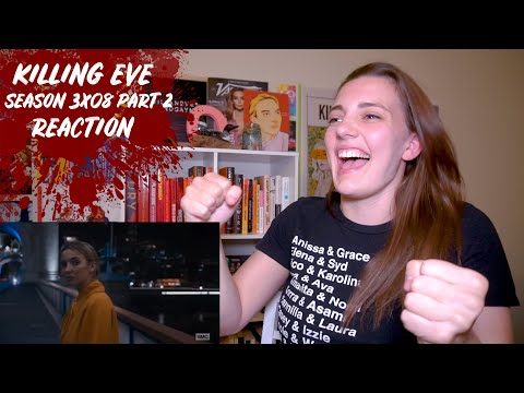 "Killing Eve Season 3 Episode 8 ""Are You Leading Or Am I?"" REACTION Part 2"